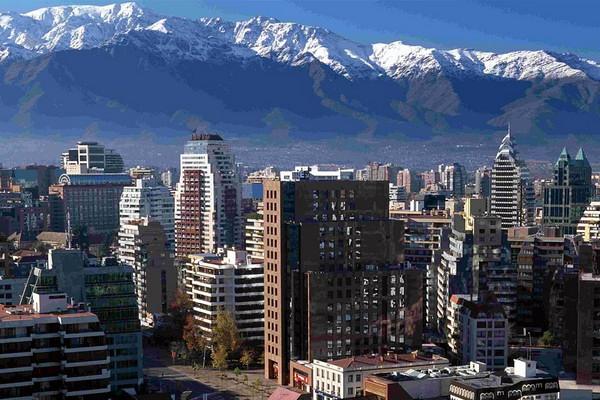 город Сантьяго-де-Чили