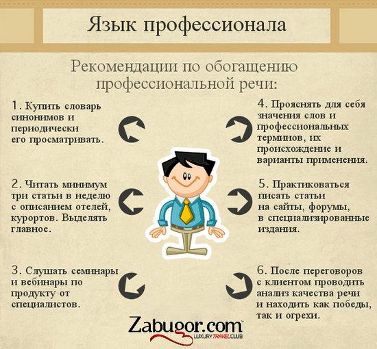рекомендации по обогащению профессиональной речи