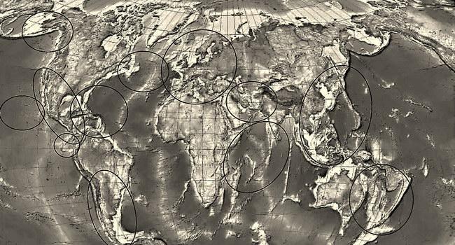 Основные регионы мировых морских круизных маршрутов
