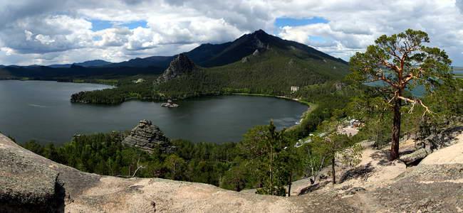 Бурабай, озеро Боровое