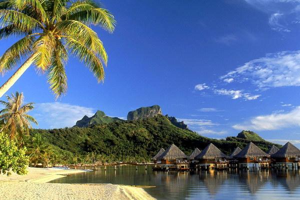 Остров Бора-Бора - настоящий рай для туриста