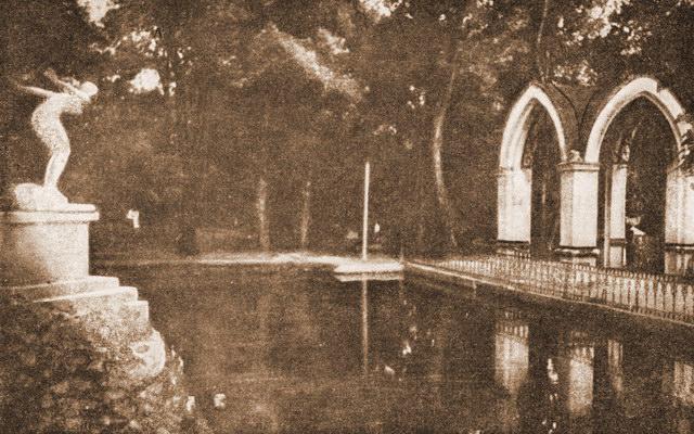 Кисловодск. Пруд Стеклянной струи (1938 год)