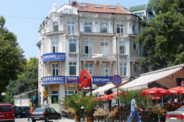 Варна. исторические здания в центре города