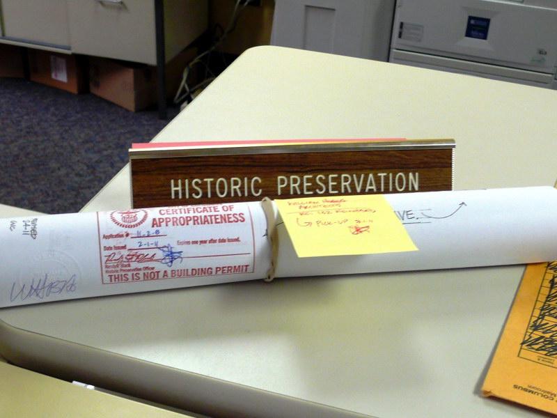 Сертификат о соответствии строительного проекта требованиям об охране исторических мест
