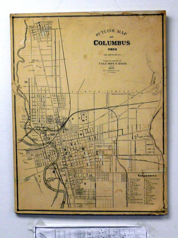 Карта г. Коламбуса, Отдел по охране исторического наследия
