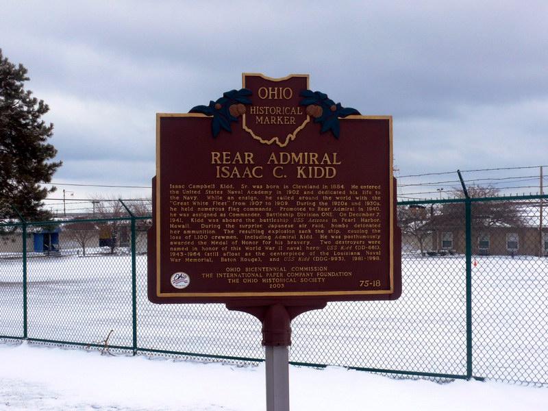 Информационная табличка исторического места, г. Кливленд