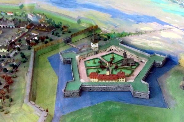 Реконструкция Бродовской цитадели в краеведческом музее города Броды
