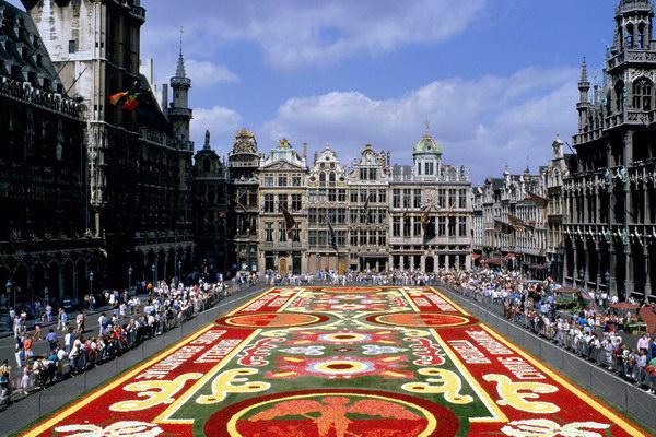 Площадь Гранд Плас в Брюсселе