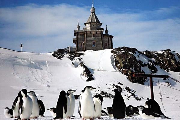 Свято-Троицкий храм в Антарктиде