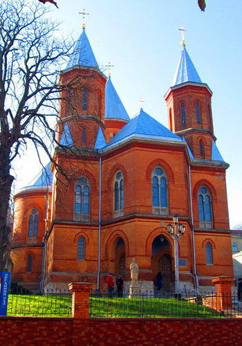 Армянская церковь в Черновцах