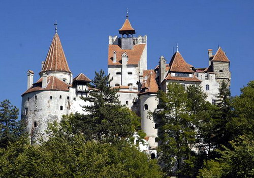 Замок Дракулы (замок Бран)