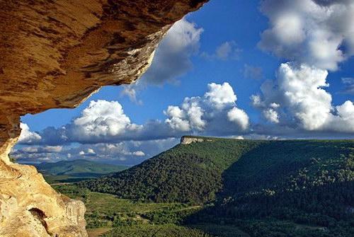 Вид из грота Качи-Кальона