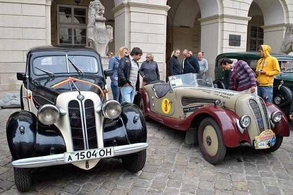Фестиваль ретро автомобилей «Leopolis Grand prix»