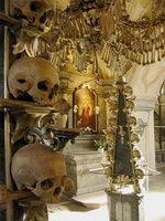 Музей-костехранилище в Чехии
