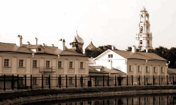 Гостиница для паломников в Троице-Сергиевой лавре