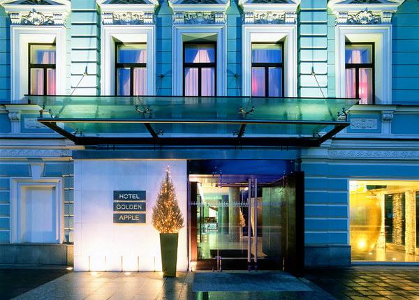 Бутик-отель Golden Apple в Москве от дизайнера Рафаэля Шафира