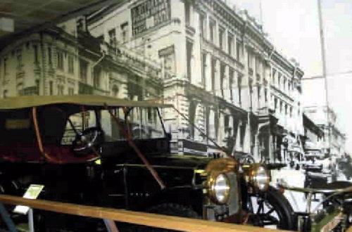 Легендарный «Руссо-Балт» в экспозиции Политехнического музея