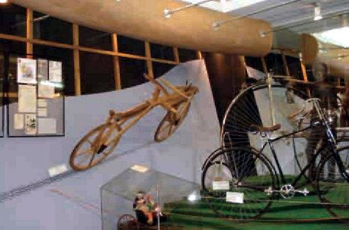 Знаменитый «костотряс» в собрании велосипедов Политехнического музея