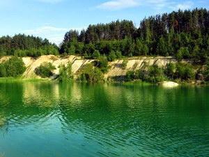 обводненный карьер в Гродно