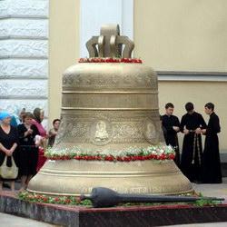 Колокол Спасо-Преображенского Собора - самый большой в Украине