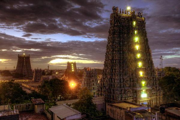 храмовый комплекс в Мадураи