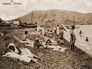 Уникальные ретро фотографии о том, как отдыхали на пляжах в