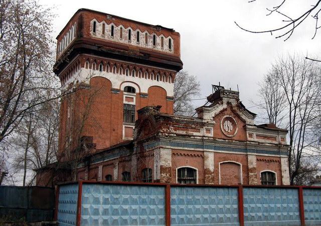 Морозовская водонапорная башня в Орехово-Зуево