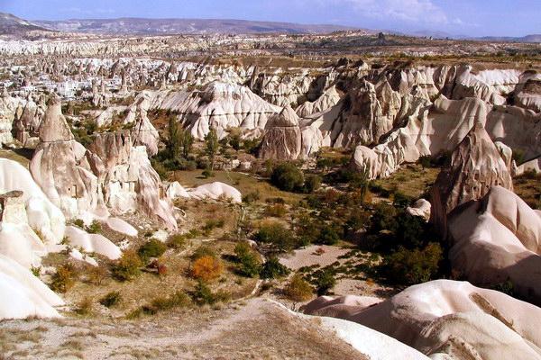 Каппадокия - скальный пейзаж