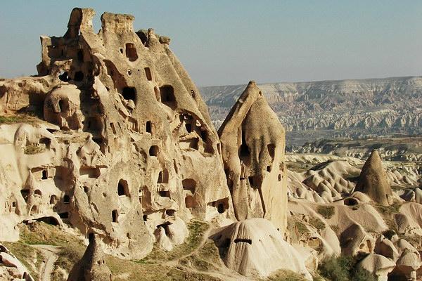 Каппадокия - пещерный комплекс