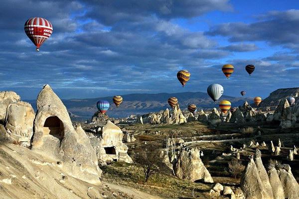 Каппадокия - путешествие на воздушном шаре