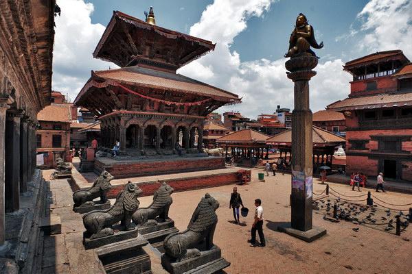 Катманду, Дворцовая площадь