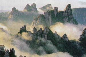Самые высокие и живописные горы своего полуострова корейцы любовно называют алмазными