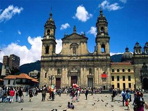 Богота, столица Колумбии