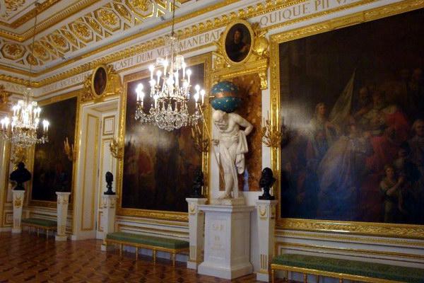 Рыцарский зал в Королевском замке