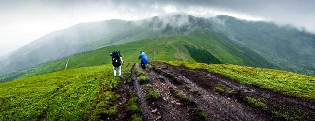 горный ландшафт