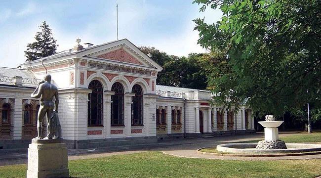 Ессентуки, ванное здание императора Николая II