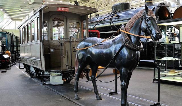 в Швейцарском музее транспорта в Люцерне