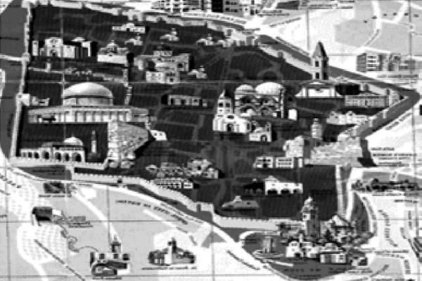 Центр Иерусалима (схема)