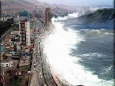 Компьютерное моделирование показывает, что землетрясение силой в 8 баллов вызовет цунами