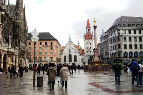 площадь Мариенплац
