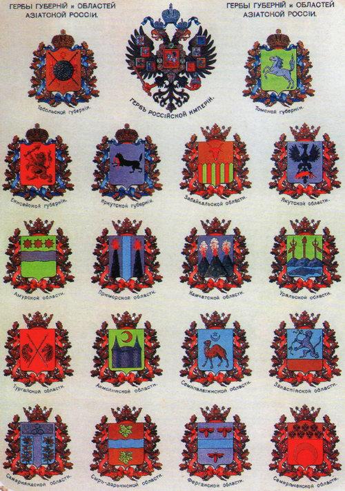гербы областей украины
