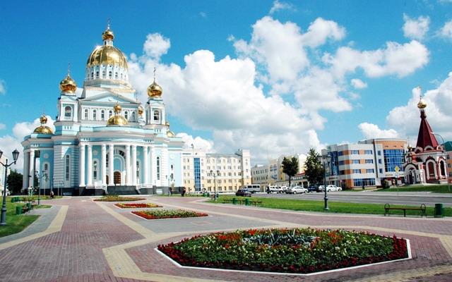 город Саранск, Мордовия