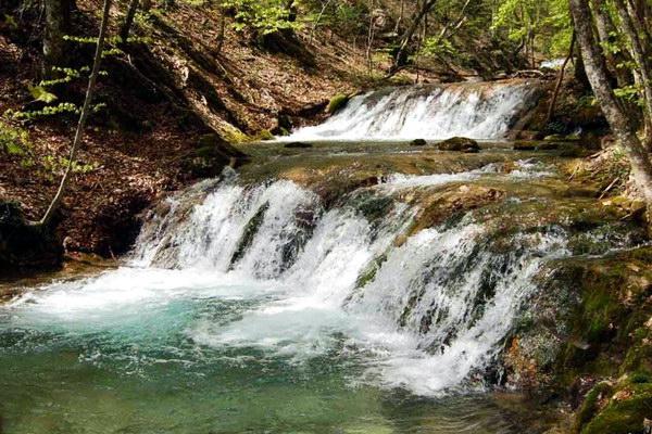 водопад на реке Улу-Узень (Алуштинский)