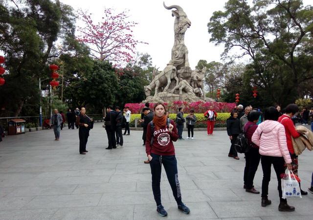 Статуя пяти козлов