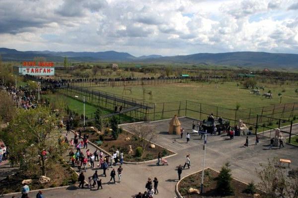 Крымский сафари-парк «Тайган»