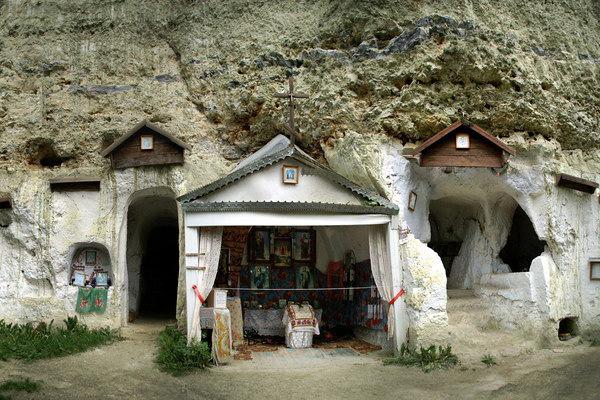 Бакотский скально-пещерный монастырь