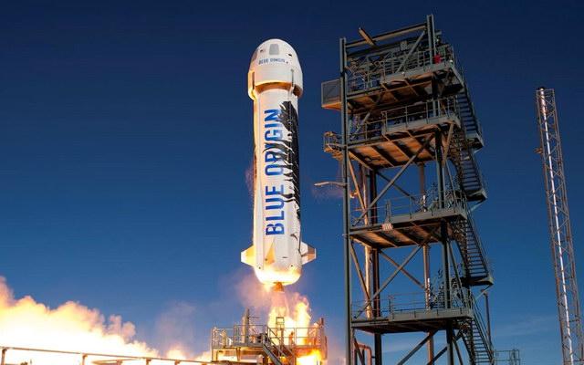 космический аппарат New Shepard