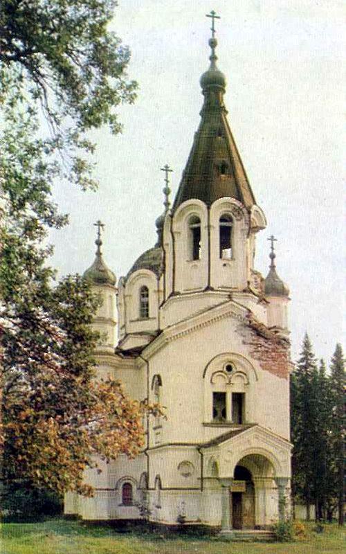 Скитский остров. Церковь Всех святых. 1849-1850 гг.