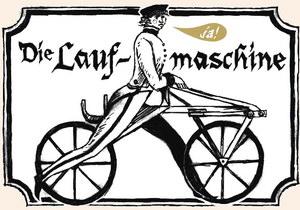 первый велосипед Людвига Драйса