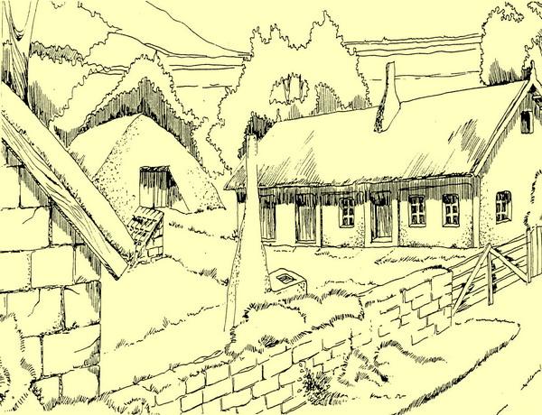 полтавский тип усадьбы